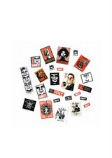 Set de Stickers Obey 3