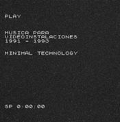 Play - Musica para Videoinstalaciones