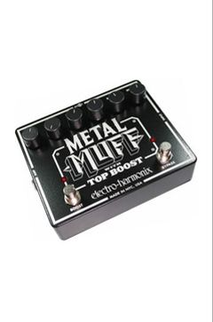 Pedal Metal Muff (Distorsion, Top Boost)
