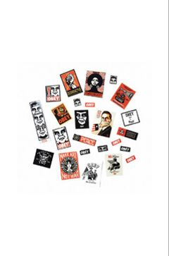 Set de Stickers Obey 3 / Mix