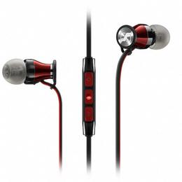 Audífonos Momentum 2.0 In Ear Negro-Rojo (iOS)