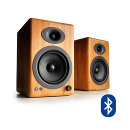 Parlantes A5+ Wireless Bambú