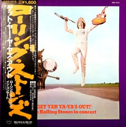 Get Yer Ya-Ya's Out! - The Rolling Stones In Concert (JO, OBI)