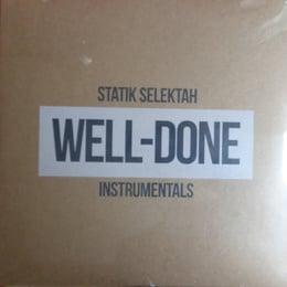 Well Done Instrumentals (Clear Vinyl 2XLP)