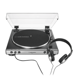 Tornamesa AT-LP 60XHP-GM c/ Audífonos