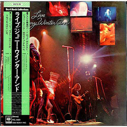 Johnny Winter And Live (OBI, JP)