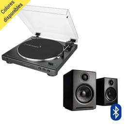 Pack Tornamesa AT-LP60X + Parlantes A2+ Wireless