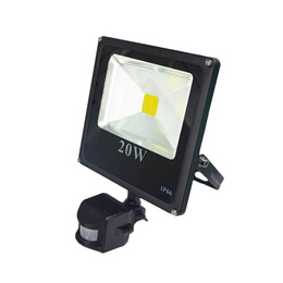 Foco Led Exterior Sensor Movimiento 20 W Ip 65
