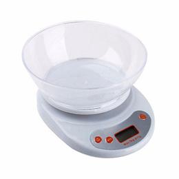 Balanza Pesa Digital Cocina 5 Kg Con Bowl