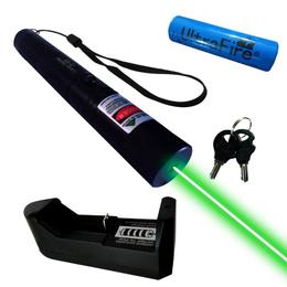 Puntero Laser Verde Recargable Seguridad