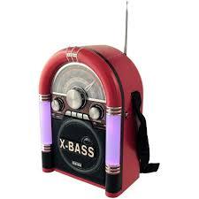 Radio Wurlitzer Retro Bluetooth/fm/usb/sd