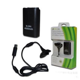 Kit Carga Xbox 360, Batería 4800mah Cable