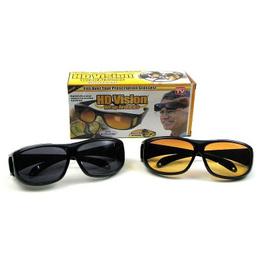 Lentes Gafas De Sol Hd Vision Wrap Around Dia Noche