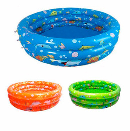 Piscina Inflable Plástico 3 Anillos 140 X 40 Cm