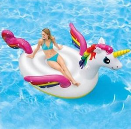 Flotador Unicornio C/ Alas Gigante Piscina