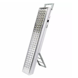 Lampara Barra Emergencia 90 Led 12 Horas De Luz Recargable