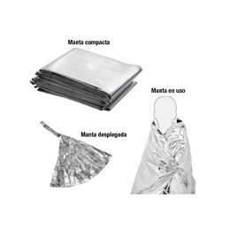 Pack 20 Manta Blanket Termica Emergencia Supervivencia