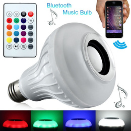 Ampolleta Bluetooth Luz Led Altavoz C/ Remoto