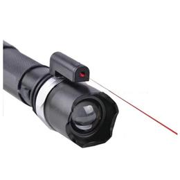 Linterna Laser Rojo Tactica Brillante