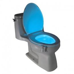 Luz Led Baño Wc Inodoro Con Sensor De Movimiento