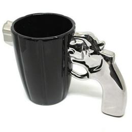 Tazón Pistola Revolver Mug 380ml