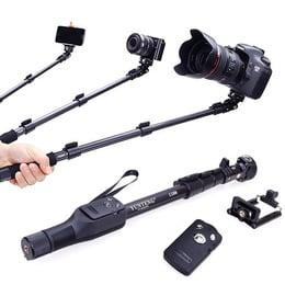 Pack 3 Monopod Baston Selfie Atril Tripode Camaras