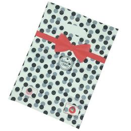 Pack 100 Bolsas Plásticas Medianas Con Diseños 24x34 Cm