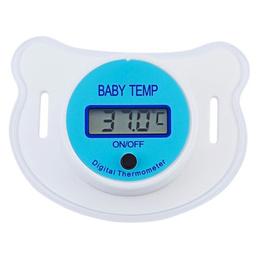 10 Chupete Termómetro Digital Para Bebe Fiebre