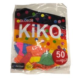 Pack 50 Globos Surtidos Marca Kiko