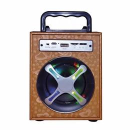 Parlante Portatil Bluetooth Radio Fm Mp3 Led