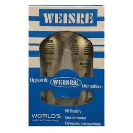 Microfonos Profesional Dinamicos Alambrico Weisre X2