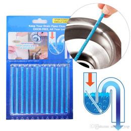 Pack 10 Limpiador de desagües de varillas