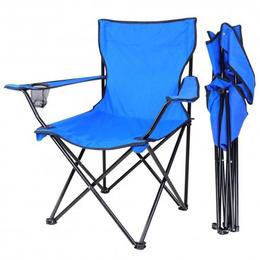 Silla Plegable Para Playa o Camping Con Portavasos