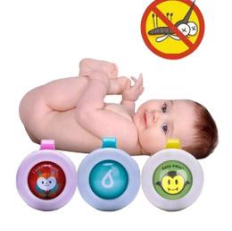 Repelente Broche Insignia Botón Bebé Niños