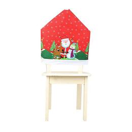Cubre Silla Navideña Santa Claus