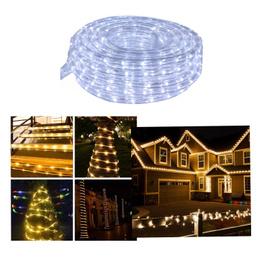 Manguera Led 20m Decoración Navidad Blanco