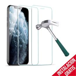 Mica Vidrio Templado iPhone X protección Seguridad