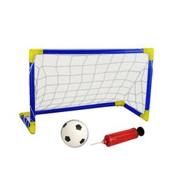 Arco Fútbol + Pelota + Red + Inflador