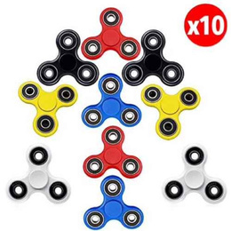 Pack 10 Fidget Spinner Relax Juguete Colores