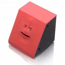 Alcancía Mecánica Divertida Facebank Rojo