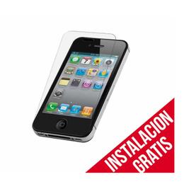 Mica Vidrio Templado iPhone 4/4s protección Seguridad