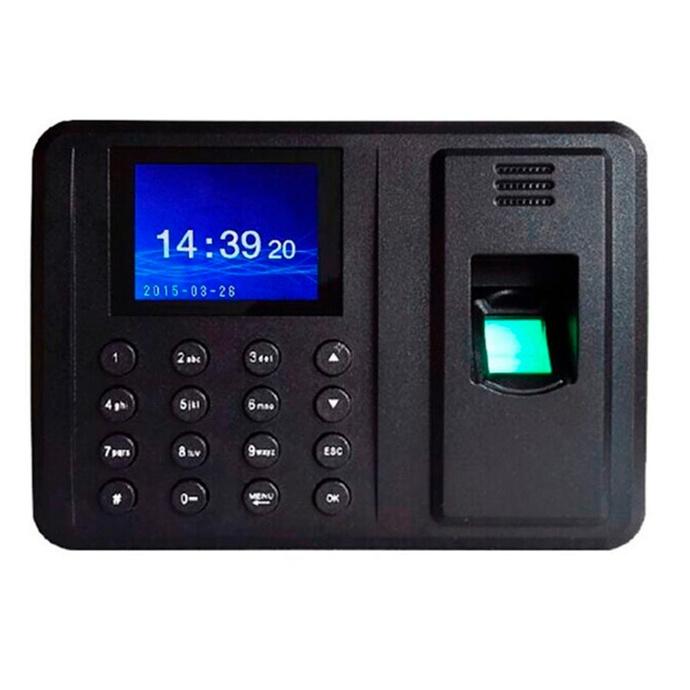 Reloj Control Asistencia Personal Huella Digital C/ Voz