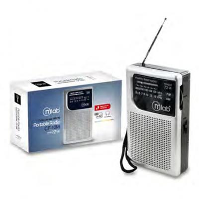 Radio Portátil Bolsillo Am Fm Tercera Edad