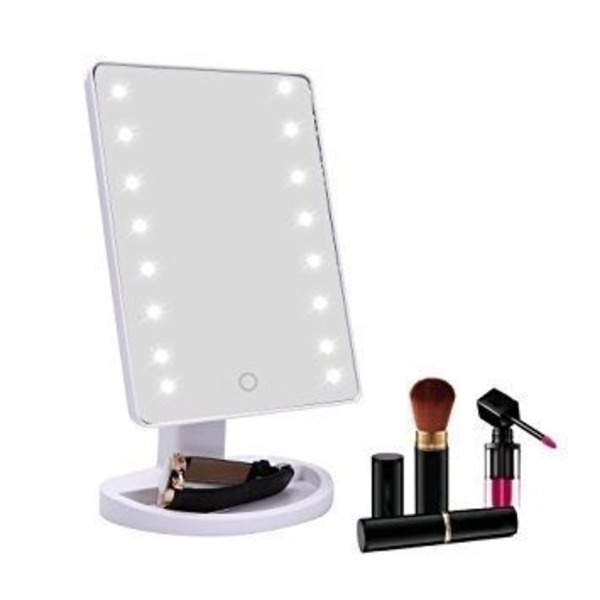 Espejos De Maquillaje Luz 16 Led