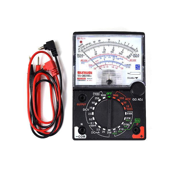 Tester Multímetro Análogo YX-360TR