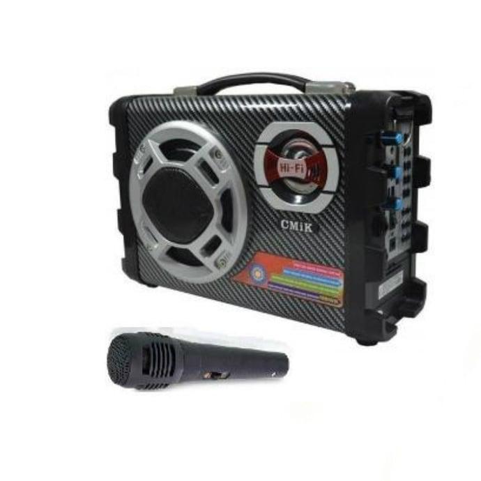 Parlante radio karaoke con micrófono