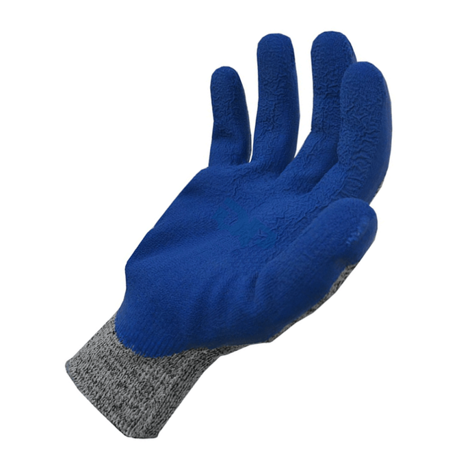 Guantes Anticorte Recubierto Latex Azul