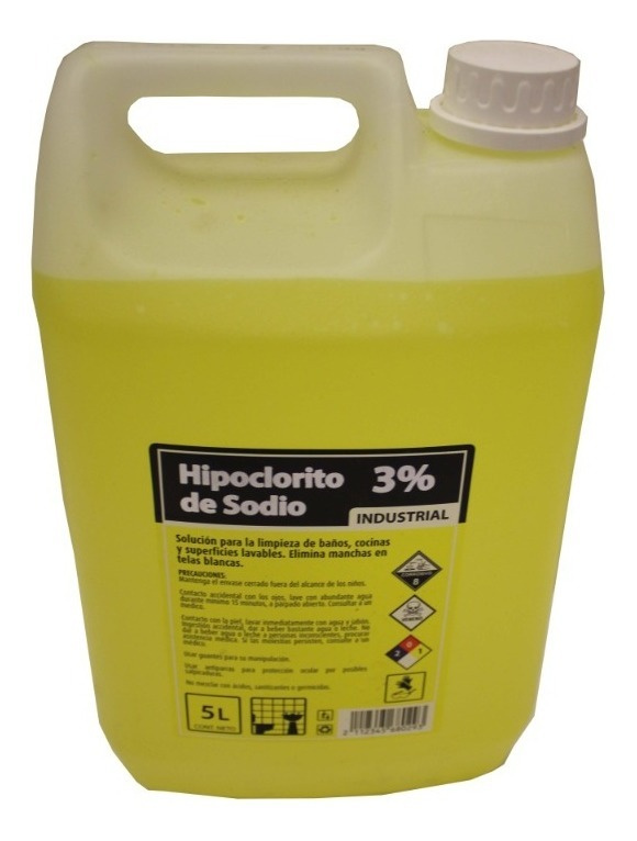 Bidon Cloro 5 litros 3%