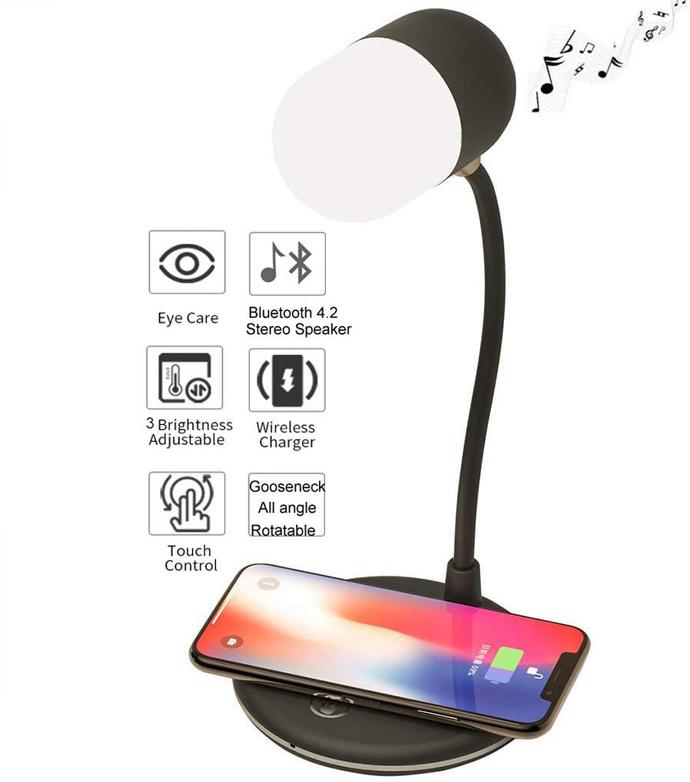 Cargador Inalámbrico 3 En 1 iPhone Samsung Huawei