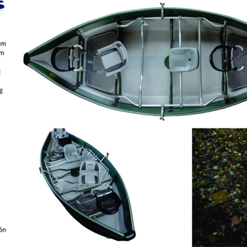 NRS Clearwater Drifter 17´ - Rivers Lakes & Oceans